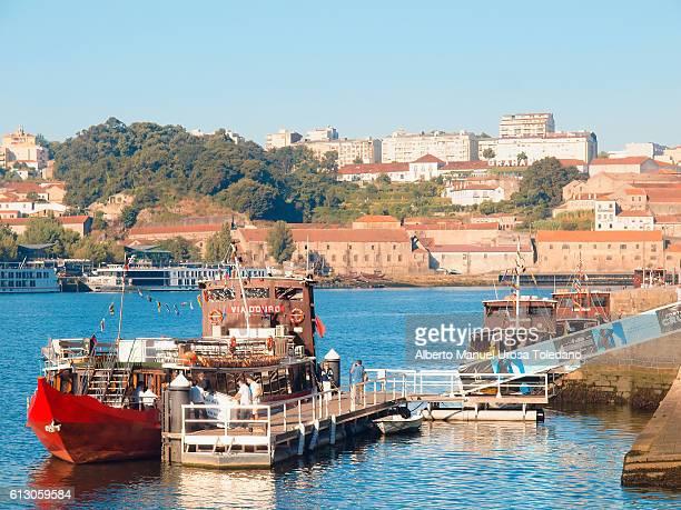 Portugal, Porto,Pier in the Ribeira do Douro