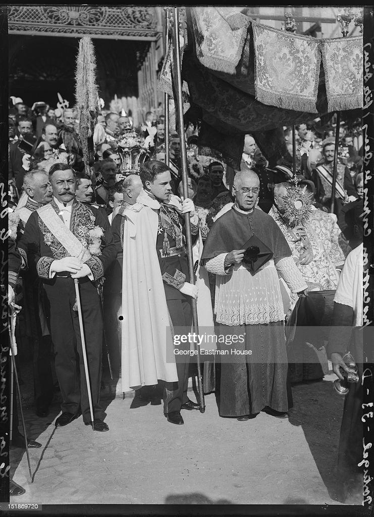 Portugal Procession Corpus De Deus (Fete Dieu) : ニュース写真