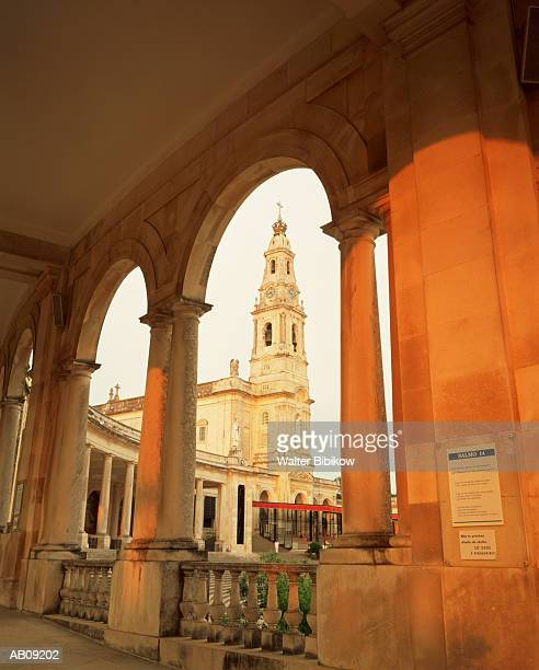 portugal, santarem, fatima, basilica and shrine of our lady of fatima - fatima stock pictures, royalty-free photos & images