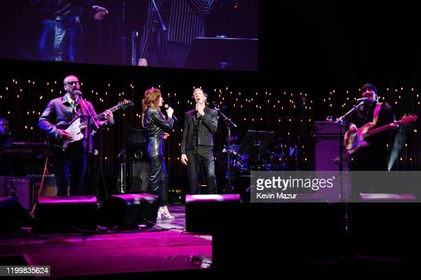 Portugal The Man Jenny Lewis and Beck perform onstage during CORE Gala A Gala Dinner to Benefit CORE and 10 Years of LifeSaving Work Across Haiti...