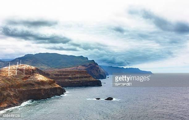 Portugal, View of volcanic peninsula of Ponta de Sao Lourenco