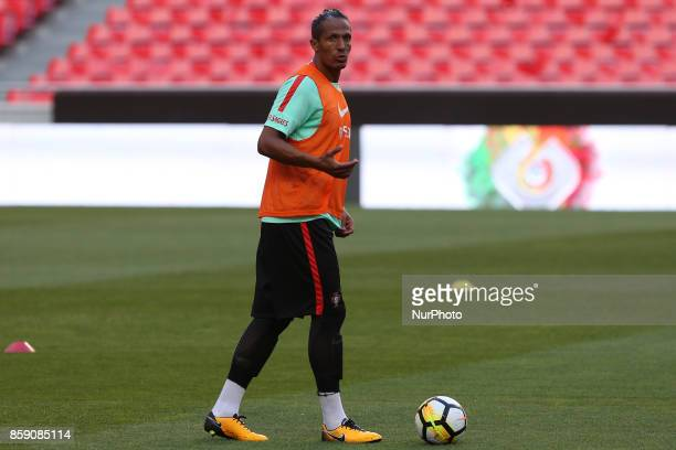 Portugals defender Bruno Alves during National Team Training session before the match between Portugal and Switzerland at Luz Stadium in Lisbon on...