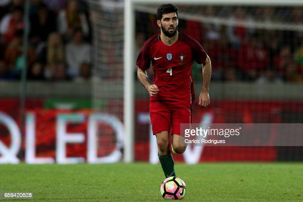 Portugal's defender Luis Neto during the match between Portugal v Sweden International Friendly at Estadio dos Barreiros on March 28 2017 in Funchal...