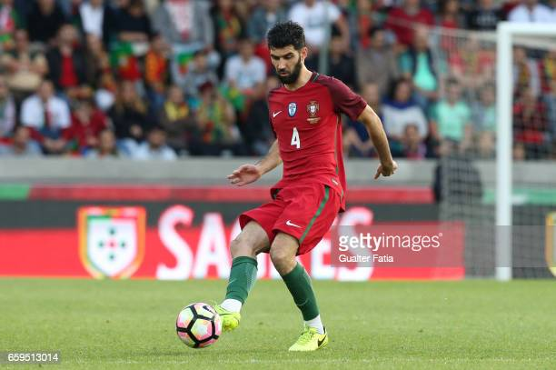 PortugalÕs defender Luis Neto in action during the International Friendly match between Portugal and Sweden at Estadio dos Barreiros on March 28 2017...