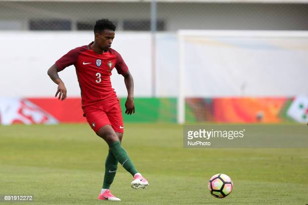 Portugal's defender Nelson Semedo in action during the friendly football match Portugal vs Cyprus at Antonio Coimbra da Mota Stadium in Estoril...