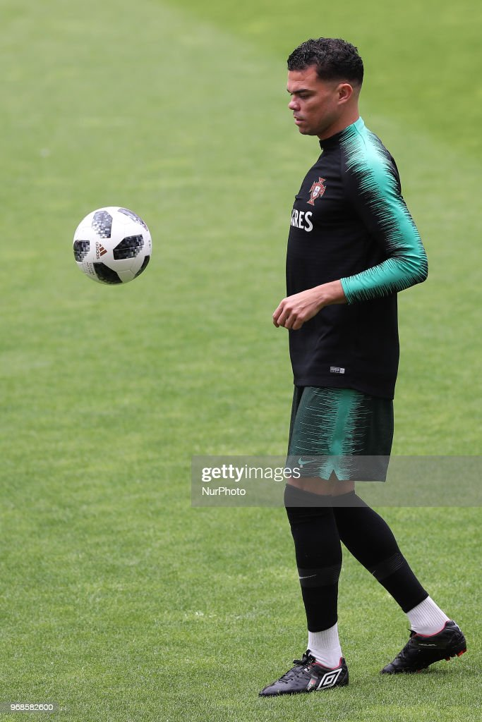 Portugal's Team Preparation For The FIFA World Cup Russia 2018 : News Photo