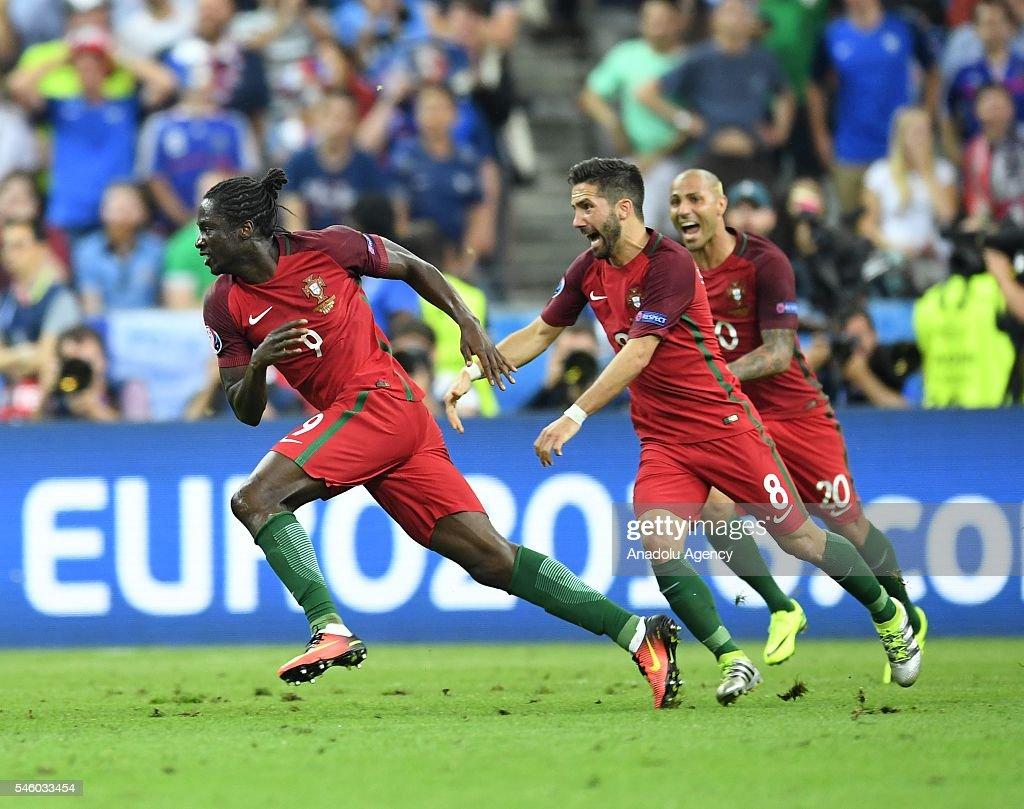 Portugal wins UEFA Euro 2016 : News Photo