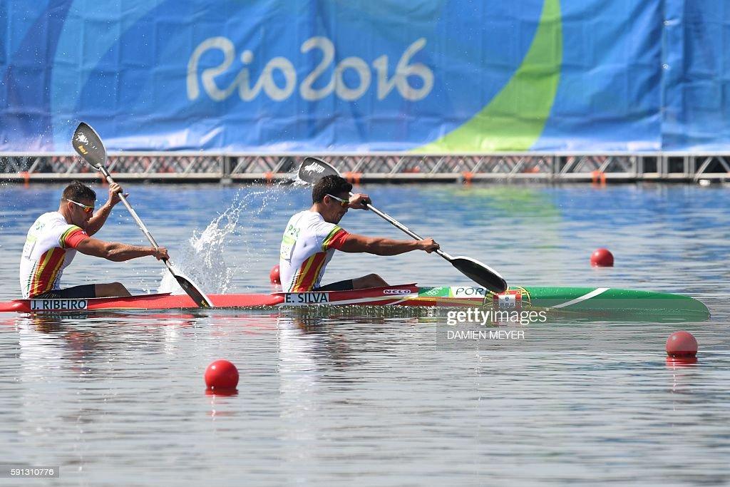 CANOE-SPRINT-OLY-2016-RIO : Nachrichtenfoto