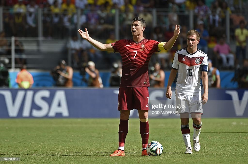 FBL-WC-2014-MATCH13-GER-POR : News Photo