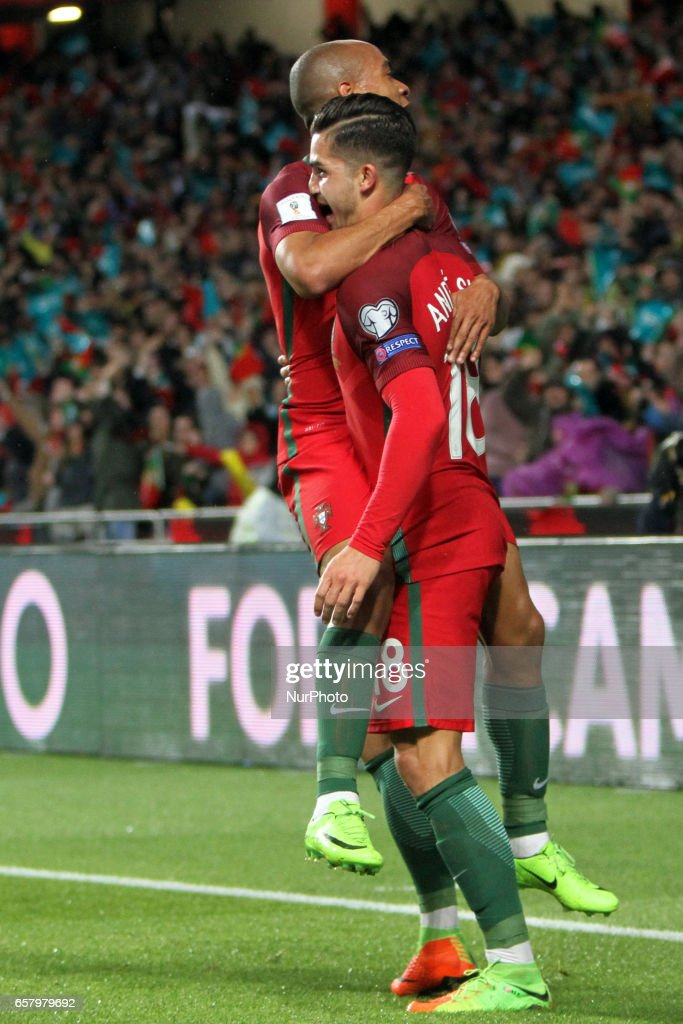 Portugal v Hungary - FIFA 2018 World Cup Qualifier : News Photo