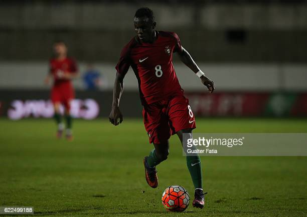 Portugal's forward Bruma in action during U21 Friendly match between Portugal and Czech Republic at Estadio do Bonfim on November 11 2016 in Setubal...