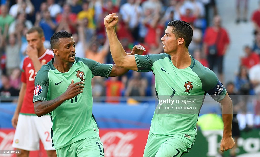 FBL-EURO-2016-MATCH34-HUN-POR : News Photo