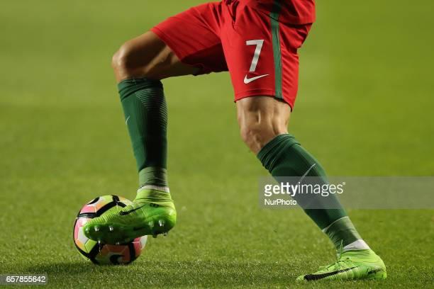 Portugals forward Cristiano Ronaldo during Portugal v Hungary FIFA 2018 World Cup Qualifier at Estadio da Luz on March 25 2017 in Lisbon Portugal