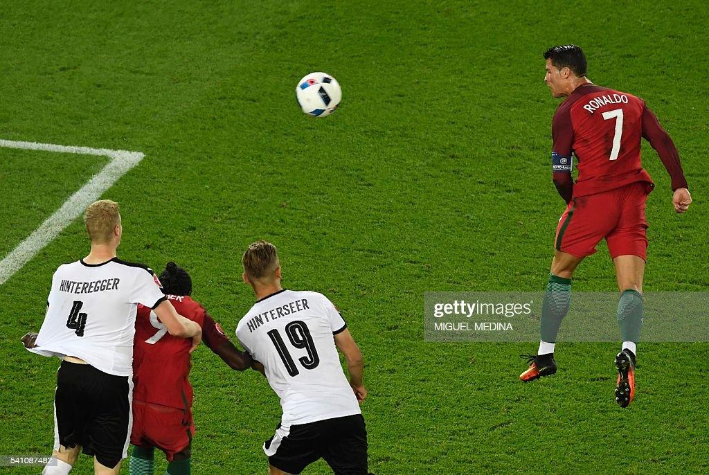 FBL-EURO-2016-MATCH24-POR-AUT : News Photo