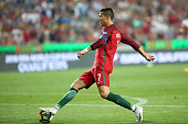 portugals forward cristiano ronaldo action during
