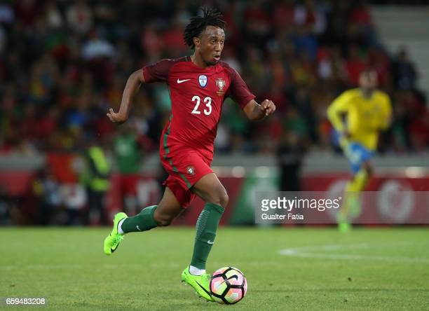 PortugalÕs forward Gelson Martins in action during the International Friendly match between Portugal and Sweden at Estadio dos Barreiros on March 28...
