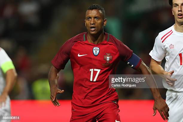 Portugal's forward Nani during the match between Portugal vs Gilbratar friendly match at Estadio do Bessa on September 01 2016 in Porto Portugal