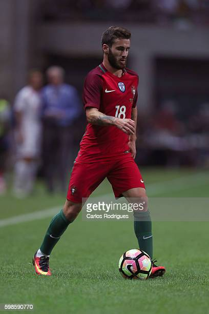 Portugal's forward Rafa Silva during the match between Portugal vs Gilbratar friendly match at Estadio do Bessa on September 01 2016 in Porto Portugal