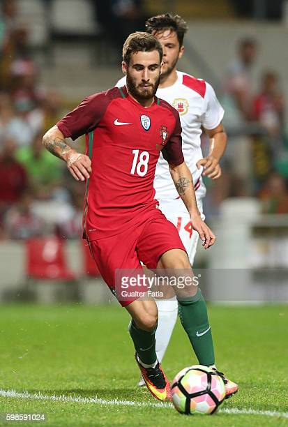 Portugal's forward Rafa Silva in action during the International Friendly match between Portugal and Gibraltar at Estadio do Bessa on September 1...