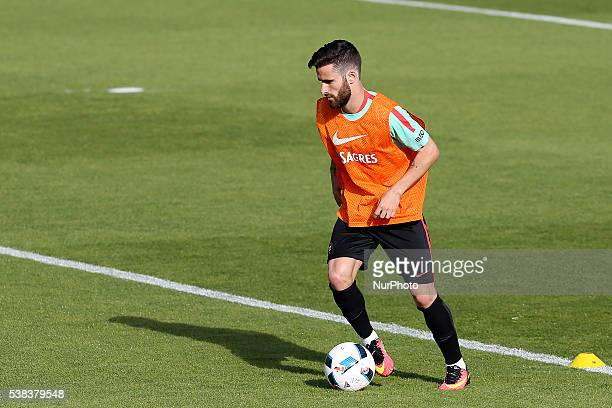 Portugals forward Rafa Silva Portugal's National Team Training session in preparation for the Euro 2016 at FPF Cidade do Futebol on June 5 2016 in...