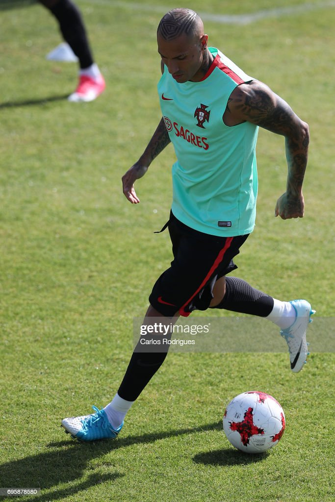 Portugal's forward Ricardo Quaresma during Portugal Training Session and Press Conference for the Confederations Cup 2017 at Cidade do Futebol on June 14, 2017 in Lisbon, Portugal.
