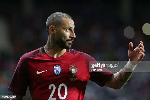 Portugals forward Ricardo Quaresma during the FIFA 2018 World Cup friendly match between Portugal v Sweden at Estadio dos Barreiros on March 28 2017...