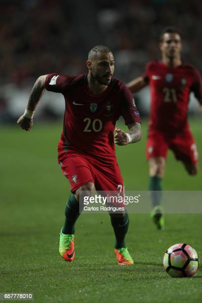 Portugal's forward Ricardo Quaresma during the match between Portugal and Hungary for FIFA 2018 World Cup Qualifier at Estadio da Luz on March 25...
