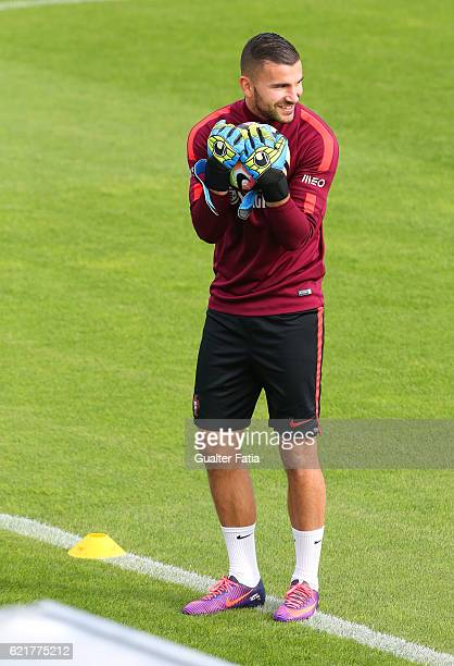 Portugal's goalkeeper Anthony Lopes during Portugal's National Team Training session before the 2018 FIFA World Cup Qualifiers matches against Latvia...