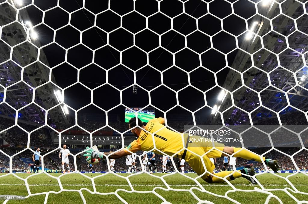 FBL-WC-2018-MATCH49-URU-POR : News Photo