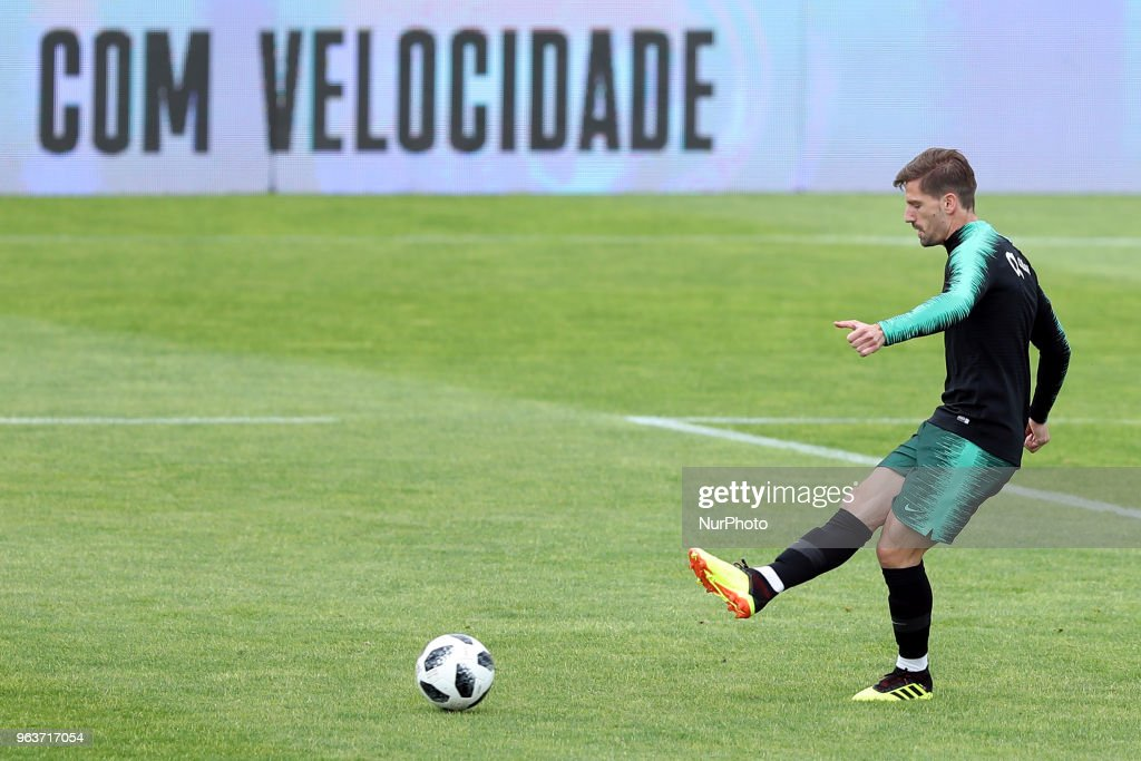 Portugal's Soccer Team Training Session : News Photo