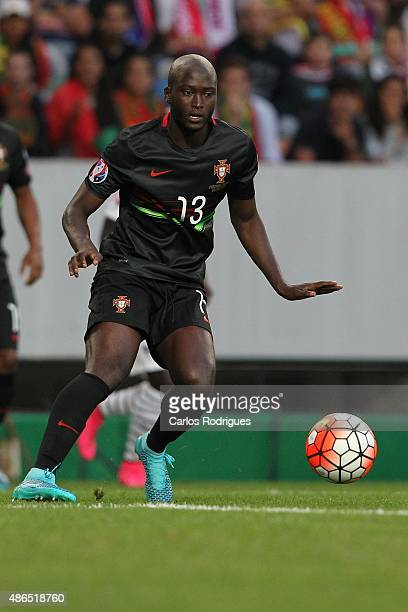 Portugal's midfielder Danilo Pereira during the Friendly match between Portugal and France on September 04 2015 in Lisbon Portugal