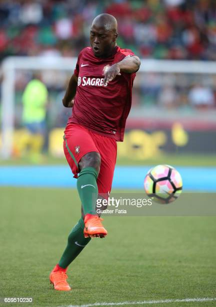 PortugalÕs midfielder Danilo Pereira during warm up before the start of the International Friendly match between Portugal and Sweden at Estadio dos...