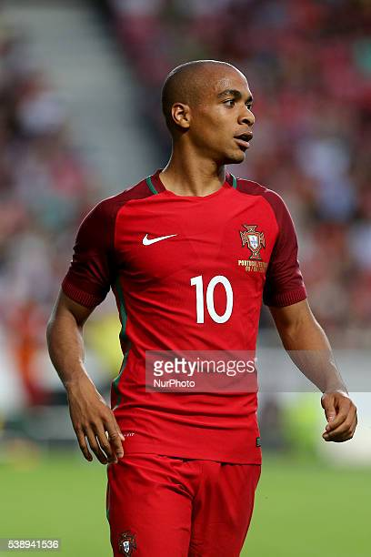 Portugals midfielder Joao Mario in action during international friendly match between Portugal and Estonia in preparation for the Euro 2016 at...