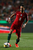portugals midfielder joao moutinho action during