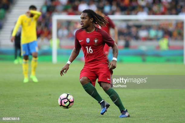 Portugals midfielder Renato Sanches during the FIFA 2018 World Cup friendly match between Portugal v Sweden at Estadio dos Barreiros on March 28 2017...