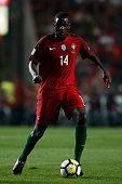 portugals midfielder william carvalho action during