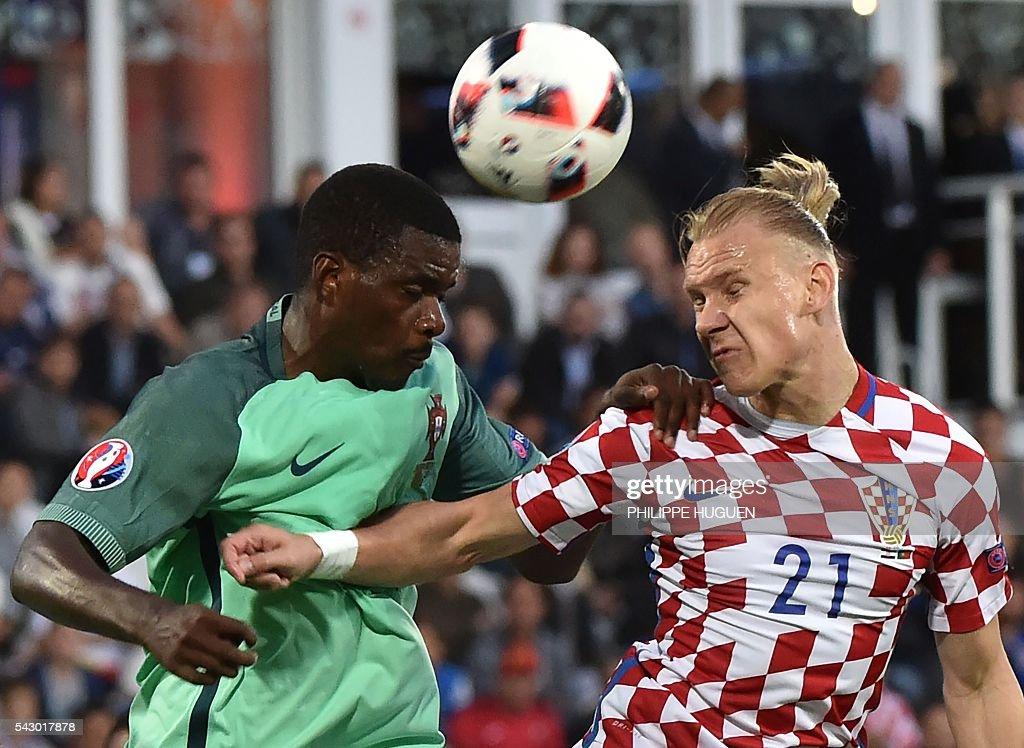 FBL-EURO-2016-MATCH39-CRO-POR : News Photo