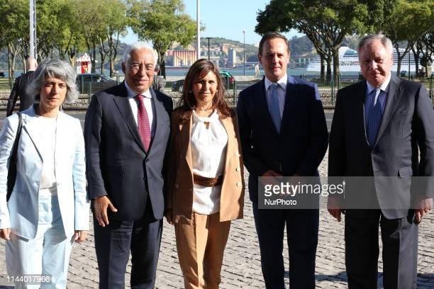 Portugal's Minister of Culture is Graca Fonseca , Portugal's Prime Minister Antonio Costa and his wife Fernanda Tadeu , Mayor of Lisbon Fernando...