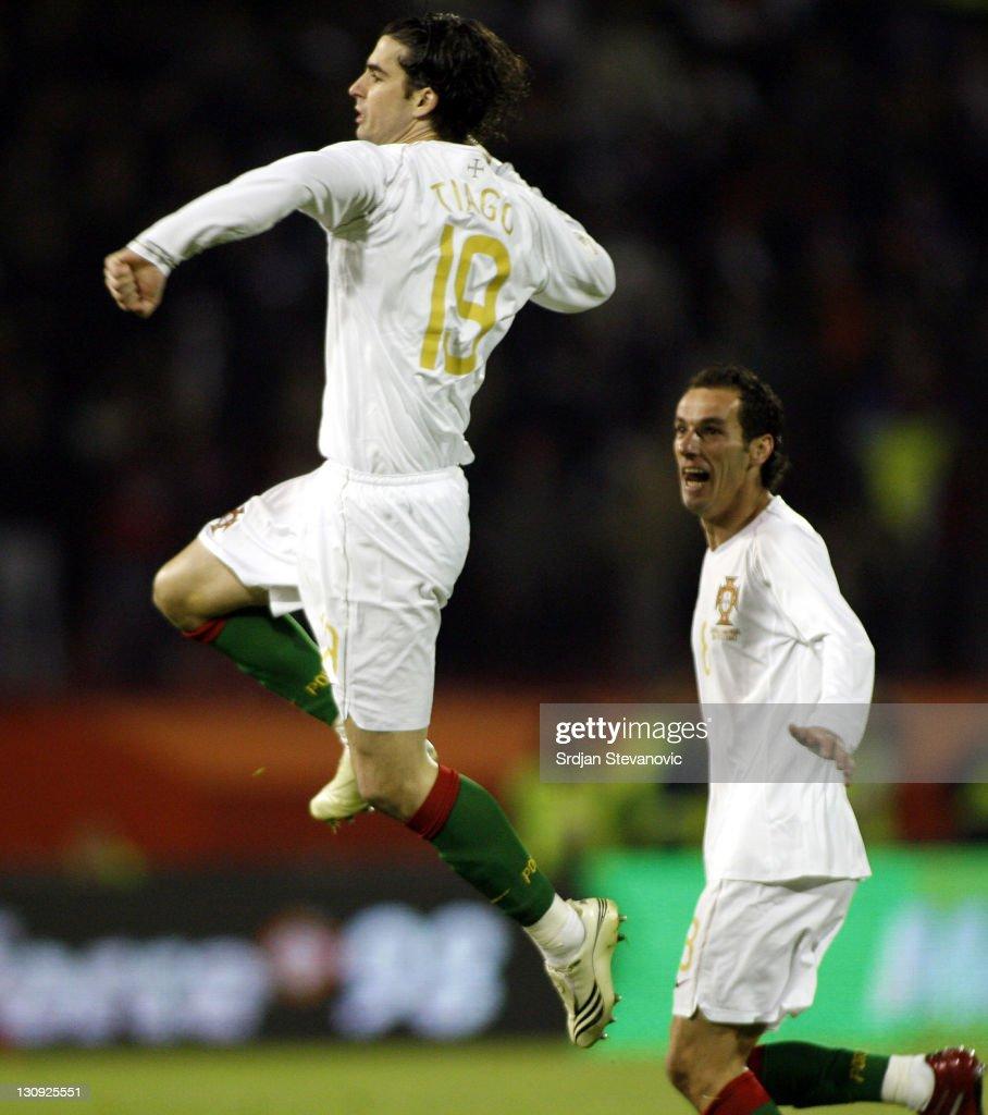 UEFA Euro 2008 - Qualifying - Portugal vs Serbia - March 28, 2007
