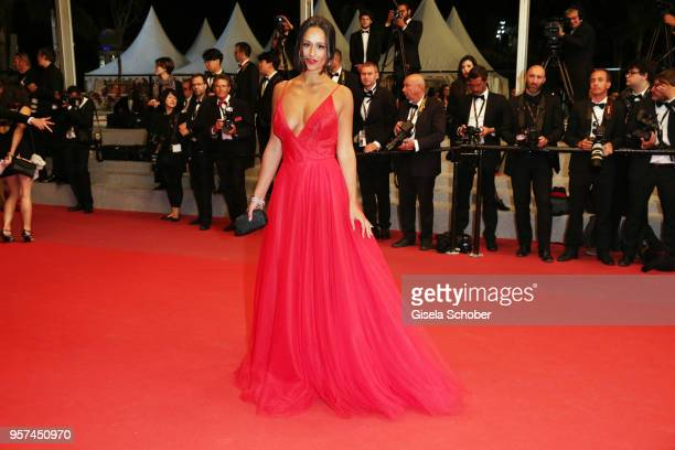 Portugese actress Rita Pereira attends the screening of The Spy Gone North during the 71st annual Cannes Film Festival at Palais des Festivals on May...