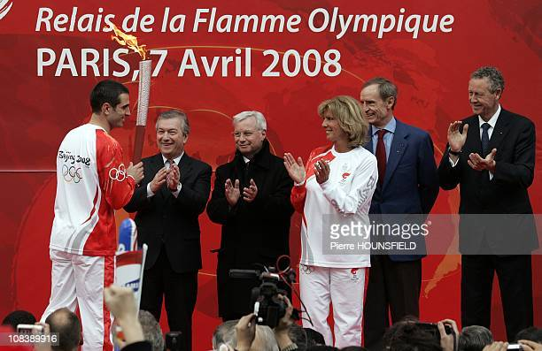Portugese Football Player Pedro Miguel Pauleta JeanClaude Killy three times gold medalist in the 1968 Winter Olympics in Grenoble over alpine skiing...