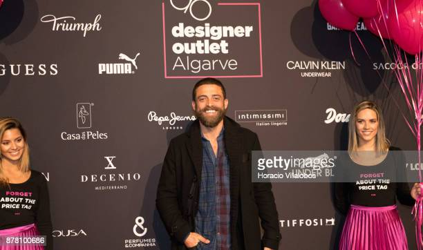Portuguese actor Diogo Amaral during the photocall at the Designer Outlet Algarve Grand Opening on November 23 2017 in Loule Portugal