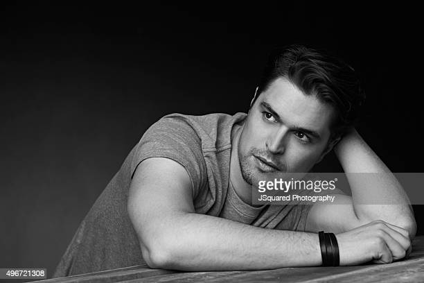 Portuguese actor Diogo Morgado is photographed for Glamoholic on April 6 2015 in Los Angeles California PUBLISHED IMAGE