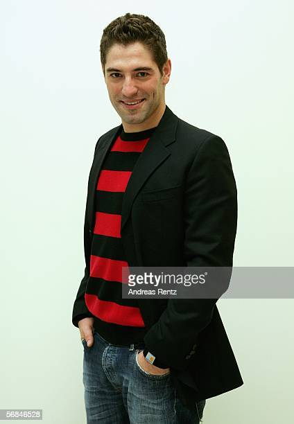 "Portuguese actor Nuno Lopes poses at the ""Shooting Stars Portrait Session"" as part of the 56th Berlin International Film Festival on February 13,..."
