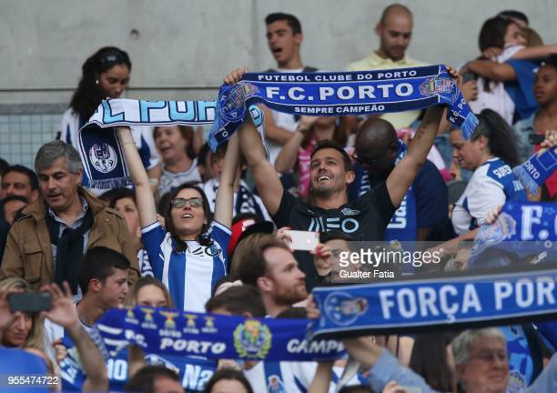 Portuguese actor Pedro Teixeira before the start of the Primeira Liga match between FC Porto and CD Feirense at Estadio do Dragao on May 6 2018 in...