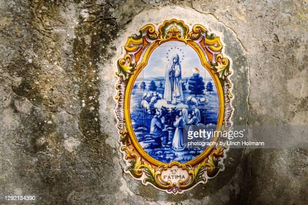 portuguese azulejo, madeira, portugal -  キリスト教 伝来の地  ストックフォトと画像
