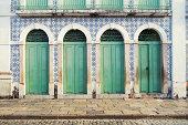 Portuguese Brazilian Colonial Architecture Sao Luis Brazil