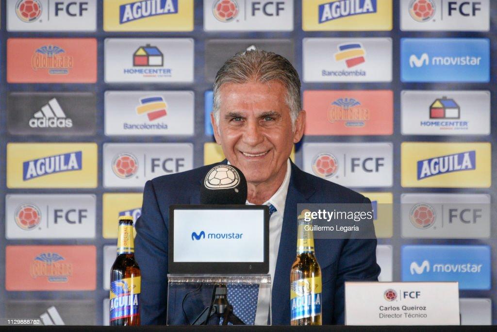 Carlos Queiroz Press Conference : ニュース写真