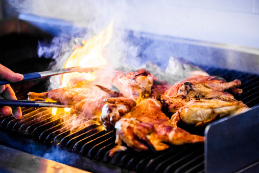 Portuguese Chicken on the Grill 503222749
