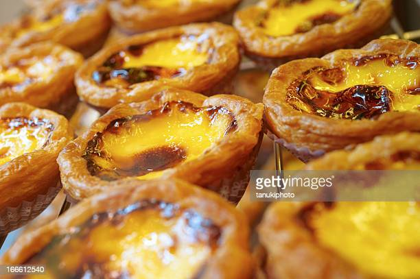 portuguese egg tarts - portuguese culture stock pictures, royalty-free photos & images